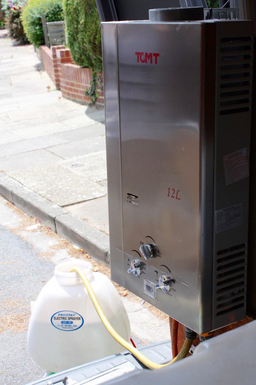 Distilled-water-system